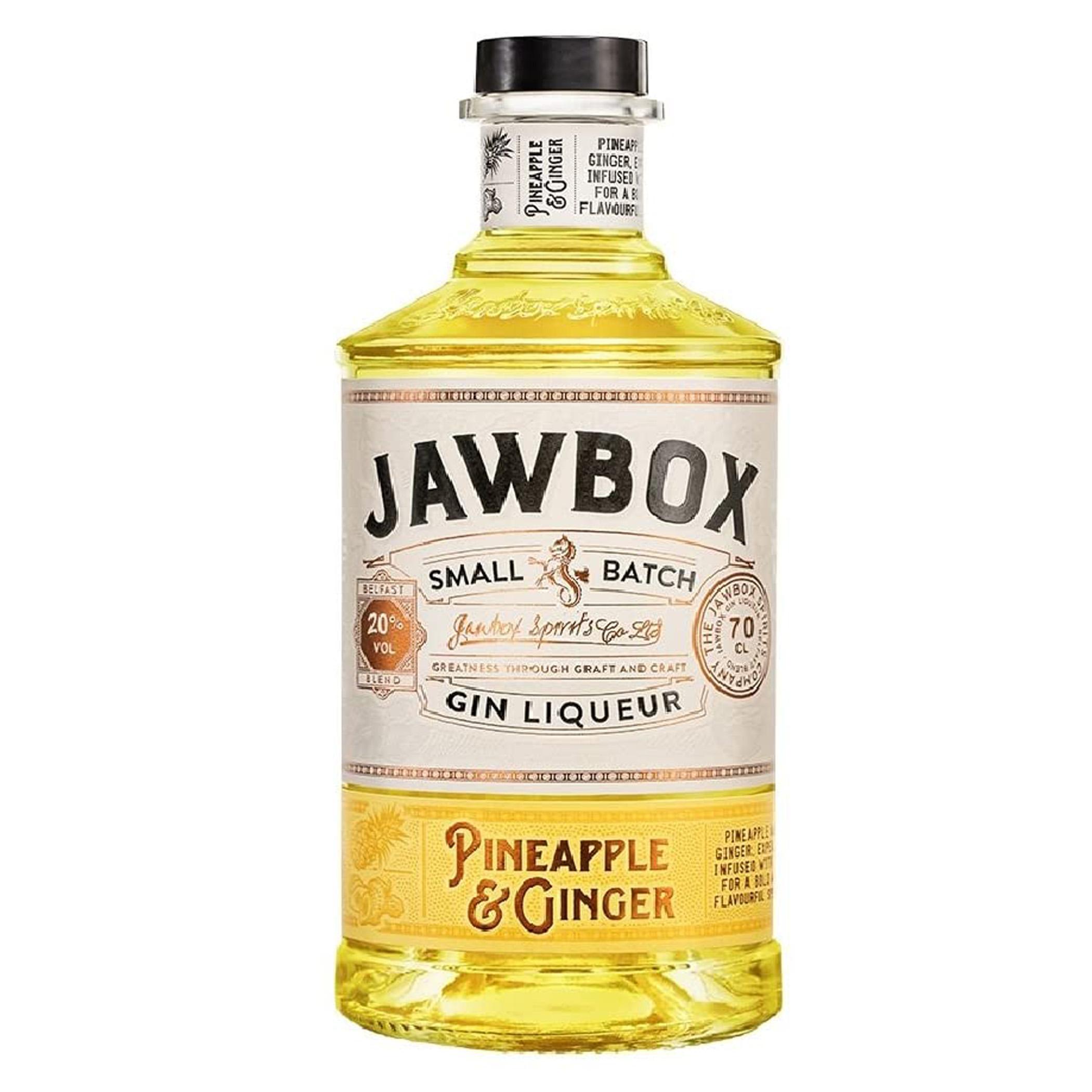 Jawbox Pineapple & Ginger Gin