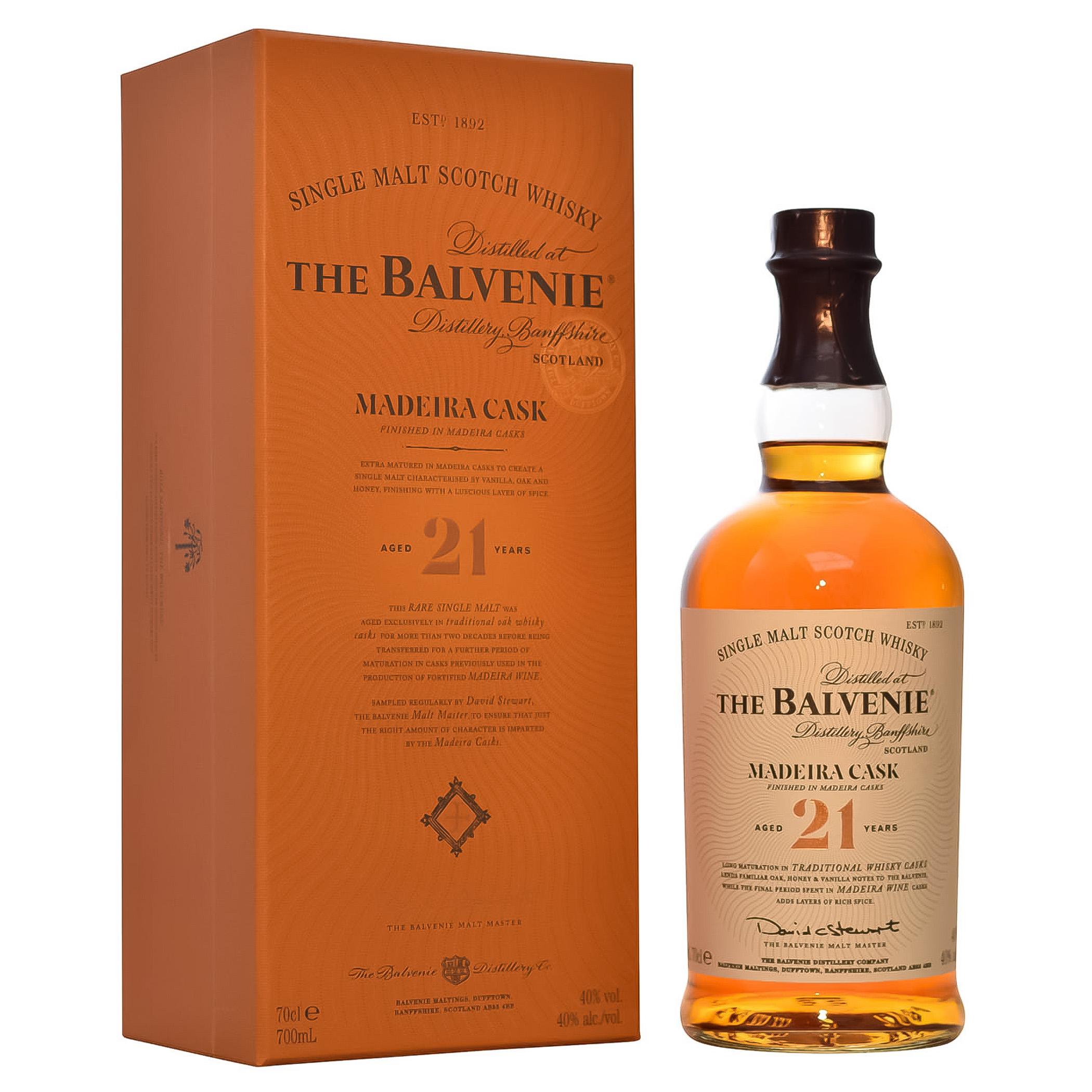 Balvenie 21 YO Madeira Cask