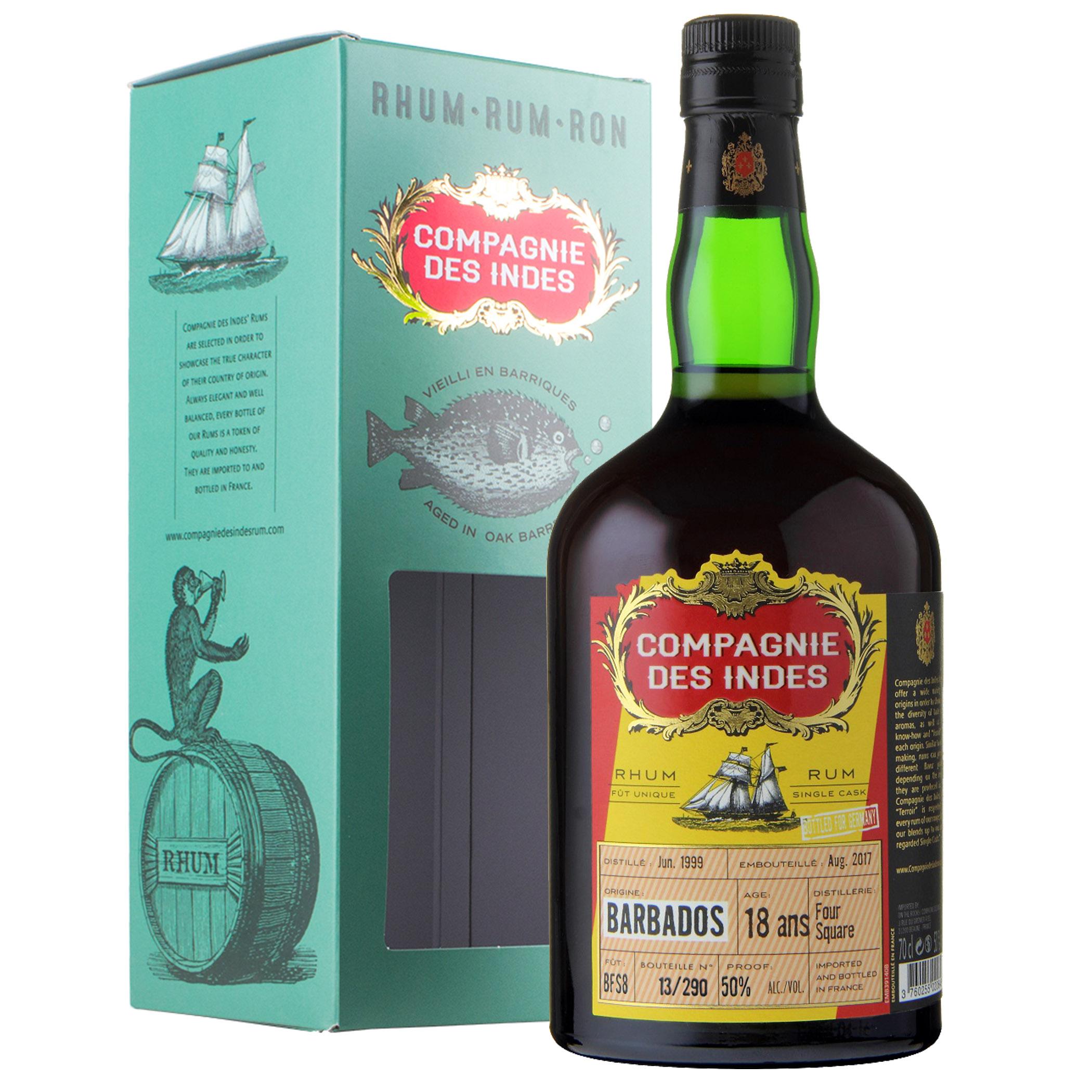 Compagnie des Indes 18 YO Rum