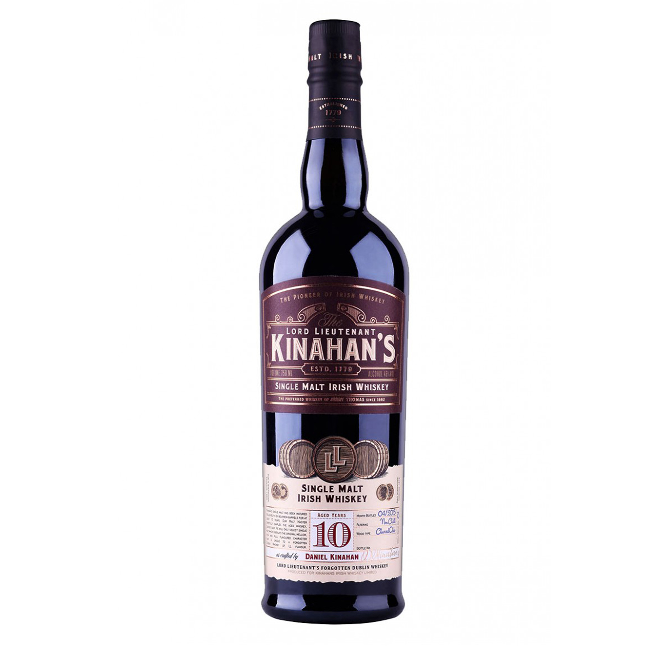 Kinahan's Single Malt 10 YO Irish Whiskey