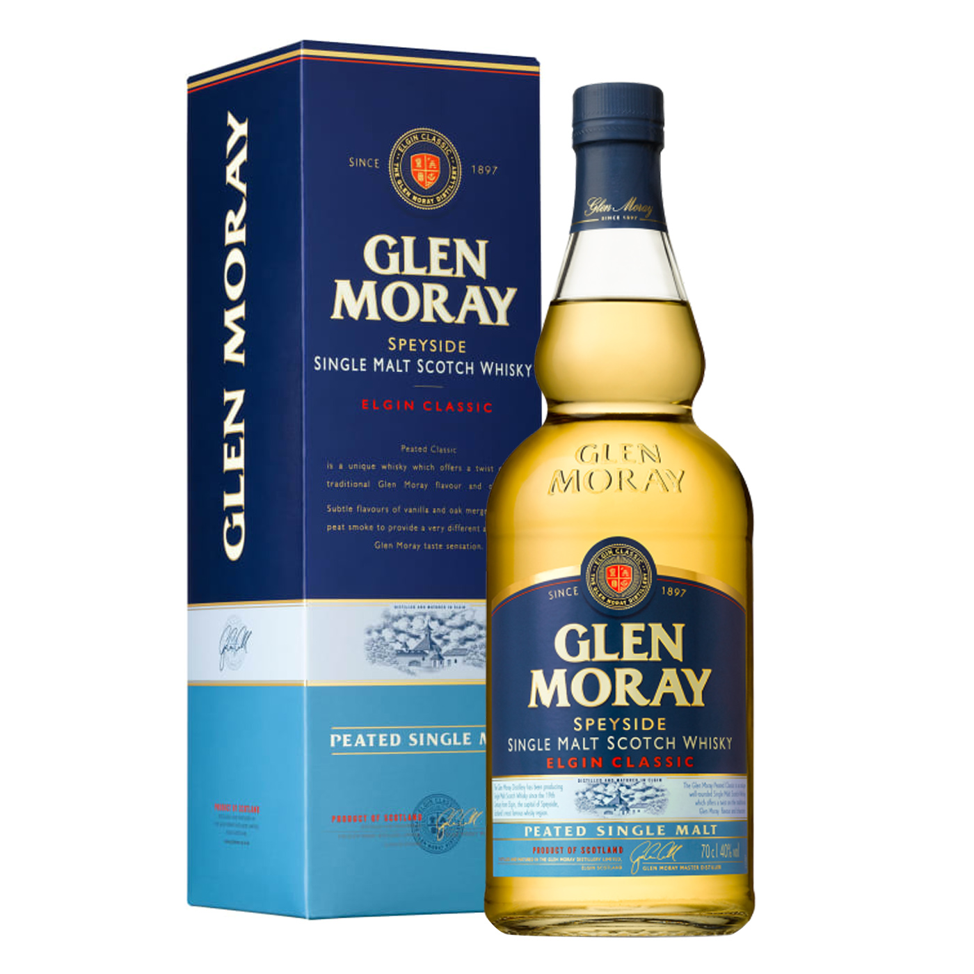 Glen Moray Peated