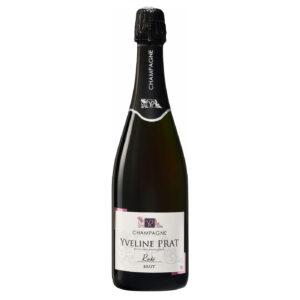 Champagne Yveline Prat Rose Brut