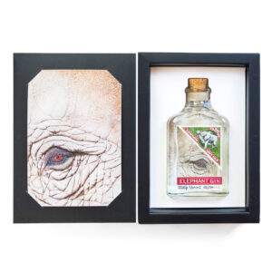Elephant London Dry Gin- Wildlife Warrior- Limited Art Edition